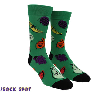 One Eyed Fruit Men's Socks by Sock it to Me - The Sock Spot