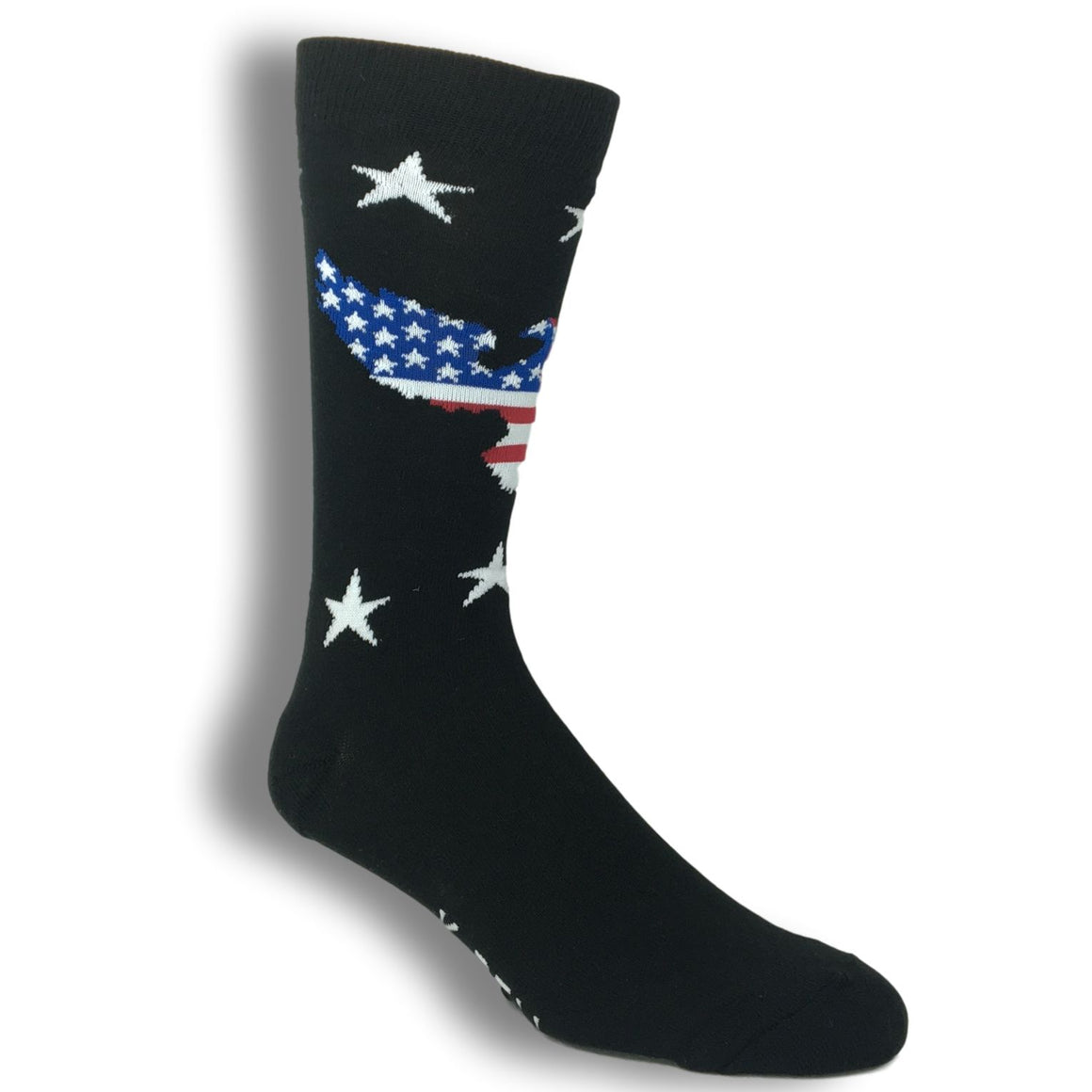 Patriotic Eagle Socks - Made In America by K.Bell - The Sock Spot