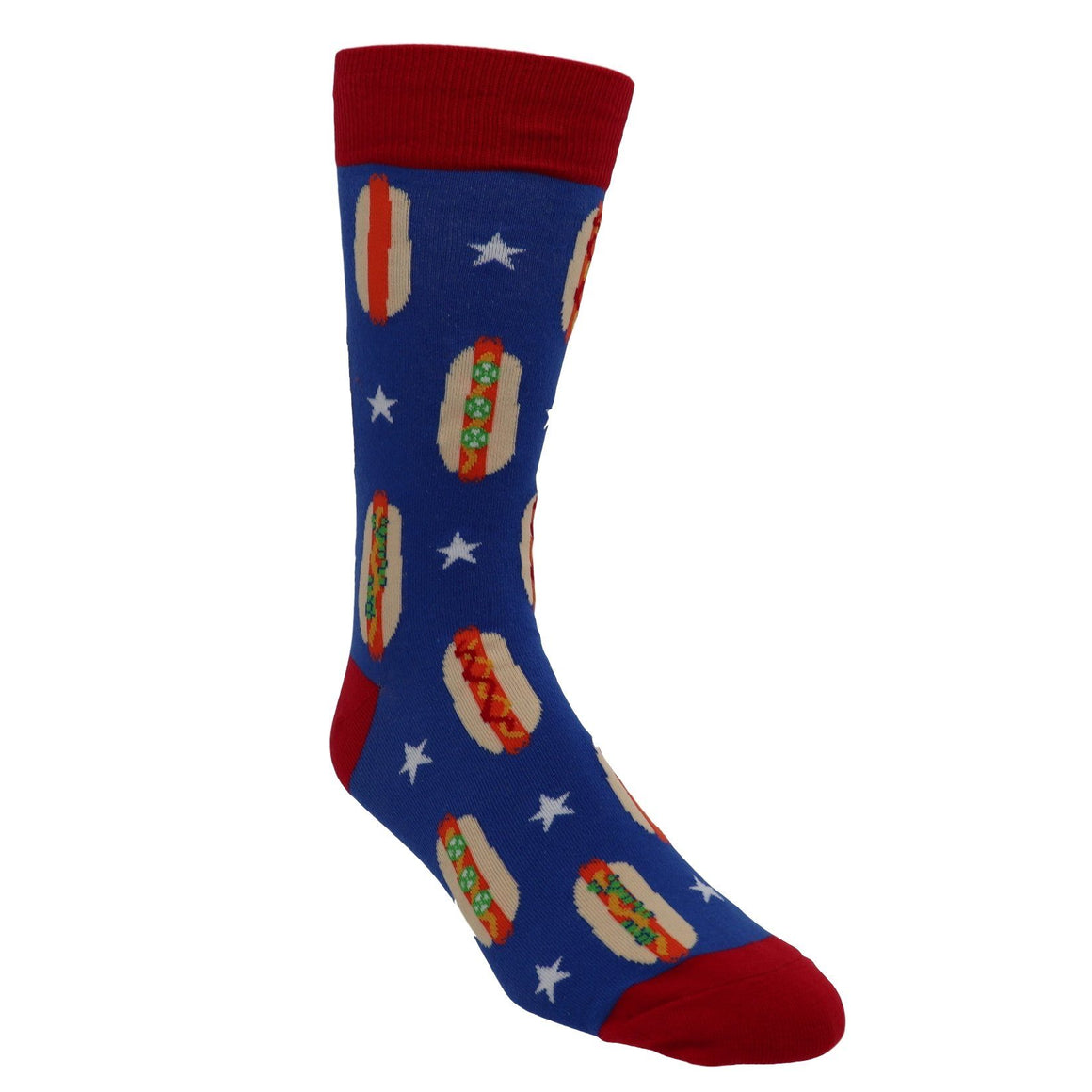 Patriotic Foot Long Men's Socks by Sock it to Me - The Sock Spot
