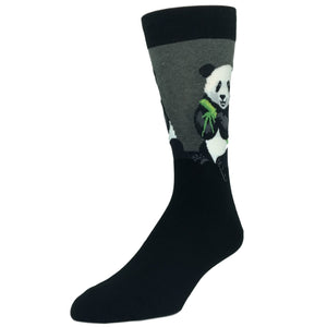 Socks - Peaceful Panda Socks - Grey