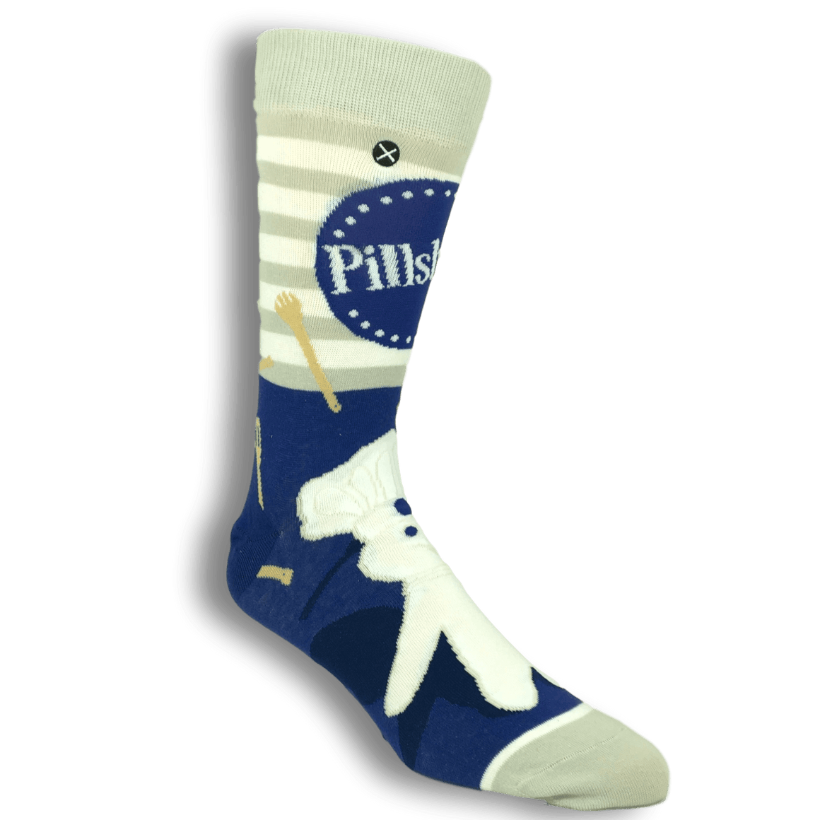 Pillsbury Doughboy Socks by Odd Sox - The Sock Spot