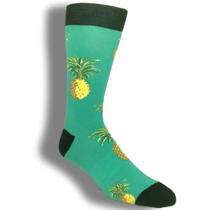 Pineapple Time Socks by K.Bell - The Sock Spot