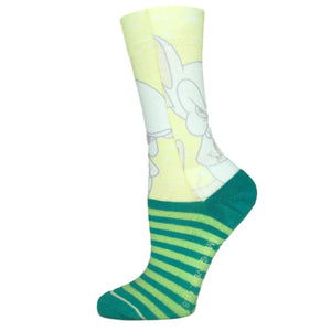 Pinky and the Brain Faded Neon Printed Socks - The Sock Spot