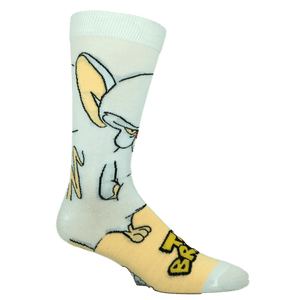 Pinky and The Brain, The Brain 360 Socks - The Sock Spot