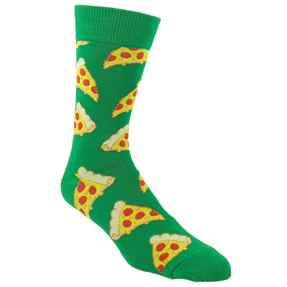 Pizza Slice Socks in Green by SockSmith - The Sock Spot