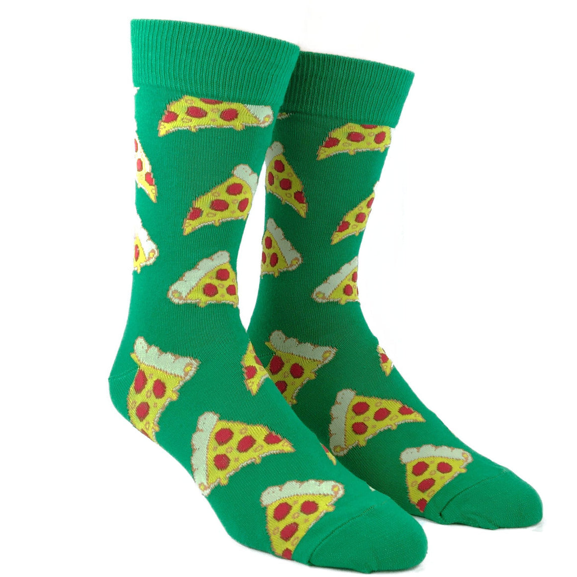 Socks - Pizza Slice Socks - Green