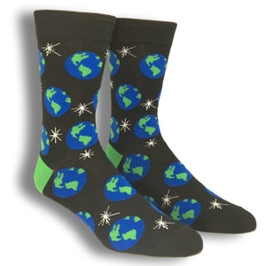 Planet Earth Socks by Good Luck Sock - The Sock Spot