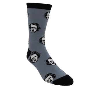 Poe-ka Dot Book Socks - Large - The Sock Spot