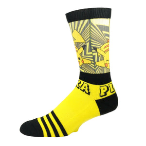 Pokémon Pika Pika Printed Socks - The Sock Spot