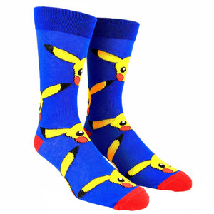 Pokémon Pika Pika Socks - The Sock Spot