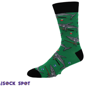 Socks - Pool Shark Men's Socks By Sock It To Me