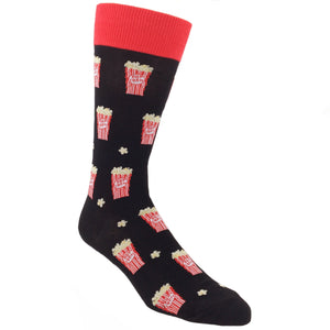 Popcorn Box Food Socks by Foot Traffic - The Sock Spot