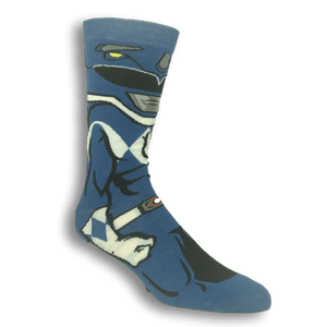 Socks - Power Ranger Blue Ranger 360 Socks