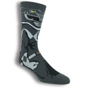 Power Rangers Black Ranger 360 Socks - The Sock Spot