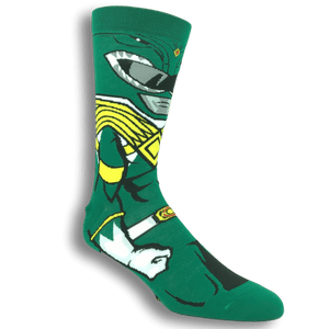 Power Rangers Green Ranger 360 Socks - The Sock Spot