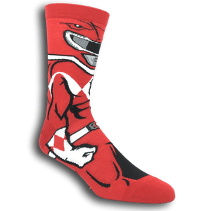 Power Rangers Red Ranger 360 Socks - The Sock Spot