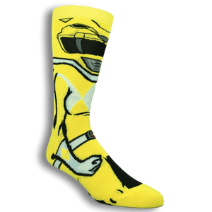 Power Rangers Yellow Ranger 360 Socks - The Sock Spot