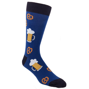 Socks - Pretzels And Beer Food Socks