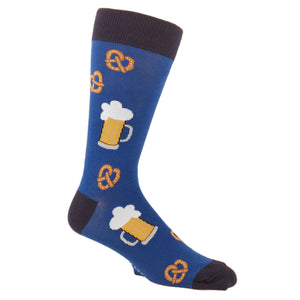 Pretzels and Beer Socks by Foot Traffic - The Sock Spot