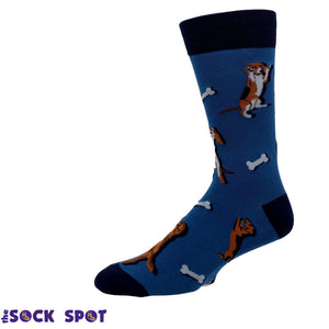 Raise the Woof Men's Socks by Sock it to Me - The Sock Spot