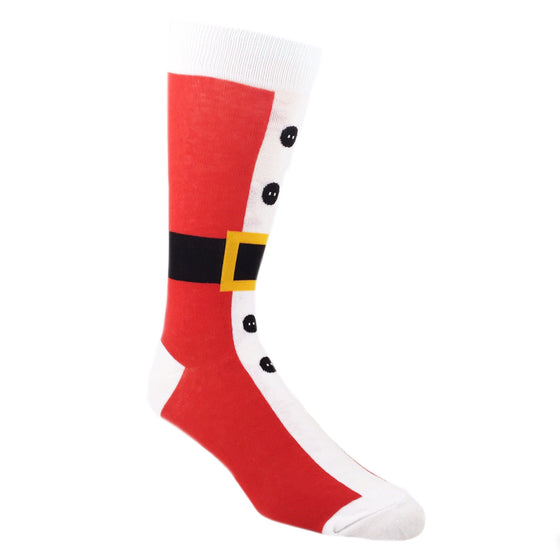 Santa Suit Christmas Socks by Foot Traffic