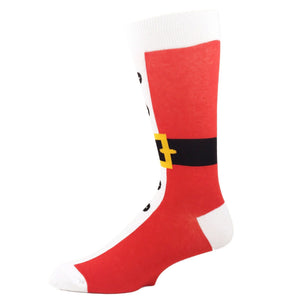 Santa Suit Christmas Socks by Foot Traffic - The Sock Spot