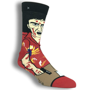 Scarface Tony's Revenge 360 Socks by Odd Sox - The Sock Spot