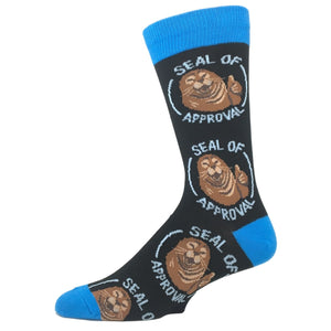 Socks - Seal Of Approval Socks - Black
