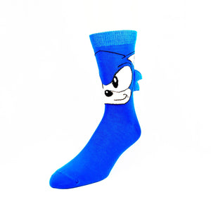 Sega Sonic with Quills 3D Socks - The Sock Spot