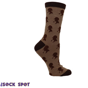 Sherlock Holmes Book Socks - Small by Out of Print - The Sock Spot