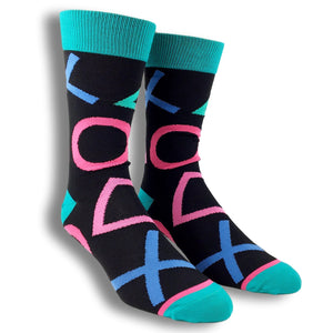 Socks - Sony Playstation Large All Over Print Socks