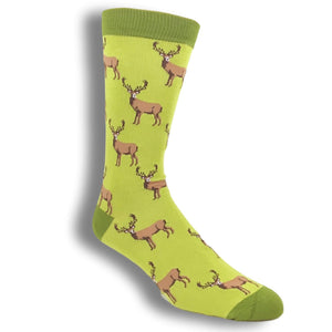 Stags Bamboo Animal Socks by SockSmith - The Sock Spot