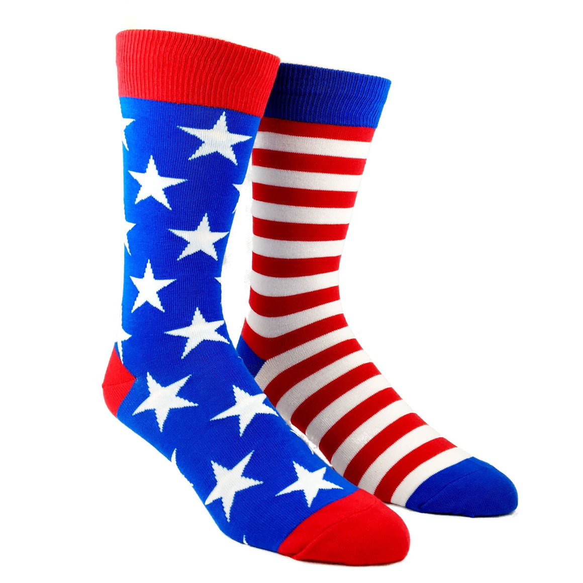 Stars and Stripes Americana Flag Socks by SockSmith - The Sock Spot