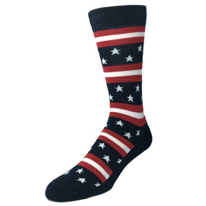 Stars and Stripes Socks - Made In America by K.Bell - The Sock Spot