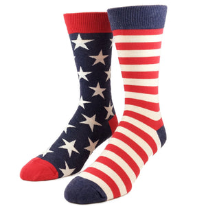 Stars and Stripes Vintage Socks by SockSmith - The Sock Spot