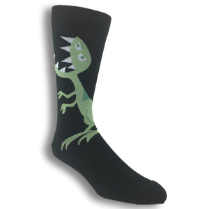 T-Rex Drawing Socks - The Sock Spot
