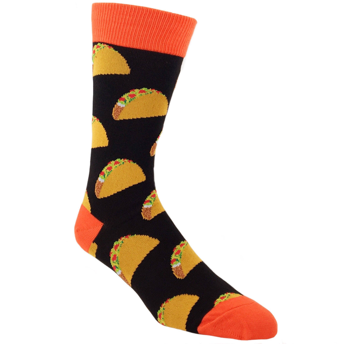 Taco Taco Taco Socks - Black - The Sock Spot