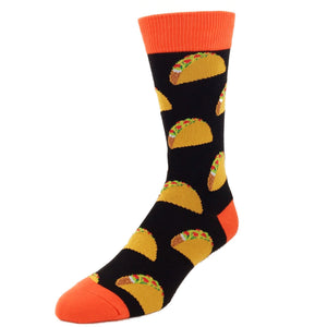 Taco Taco Taco Socks - Black