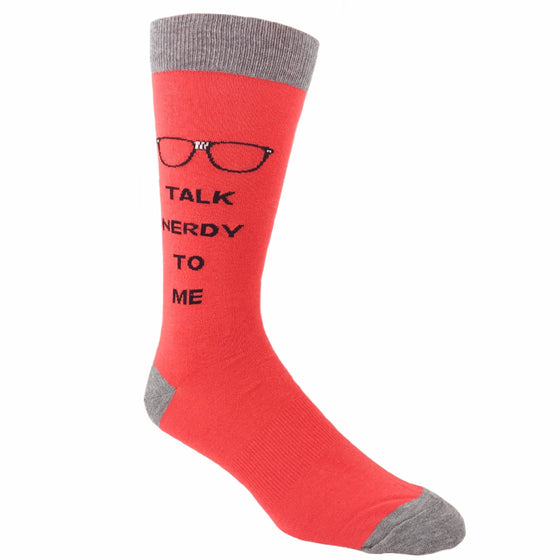 Talk Nerdy to Me Socks