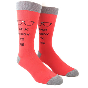 Socks - Talk Nerdy To Me Socks