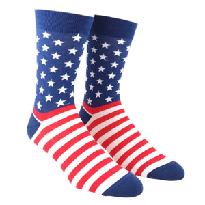Team America Patriotic Flag Socks by Good Luck Sock - The Sock Spot