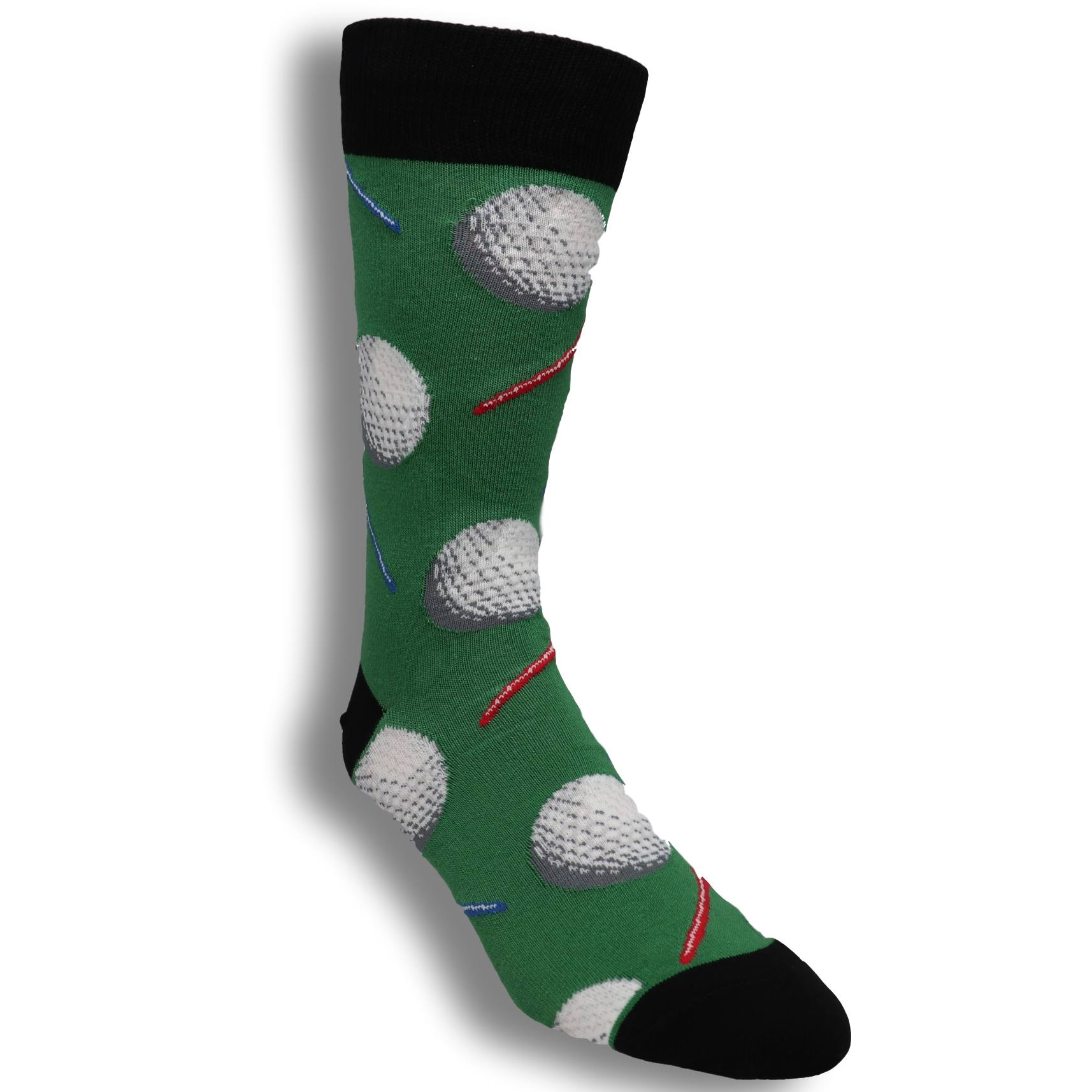 6608f304709d Socks - Tee It Up Socks Men's Socks In Green By SockSmith