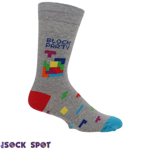 Socks - Tetris Block Party Men's Socks By Sock It To Me