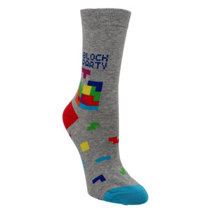Tetris Block Party Women's Socks by Sock it to Me - The Sock Spot