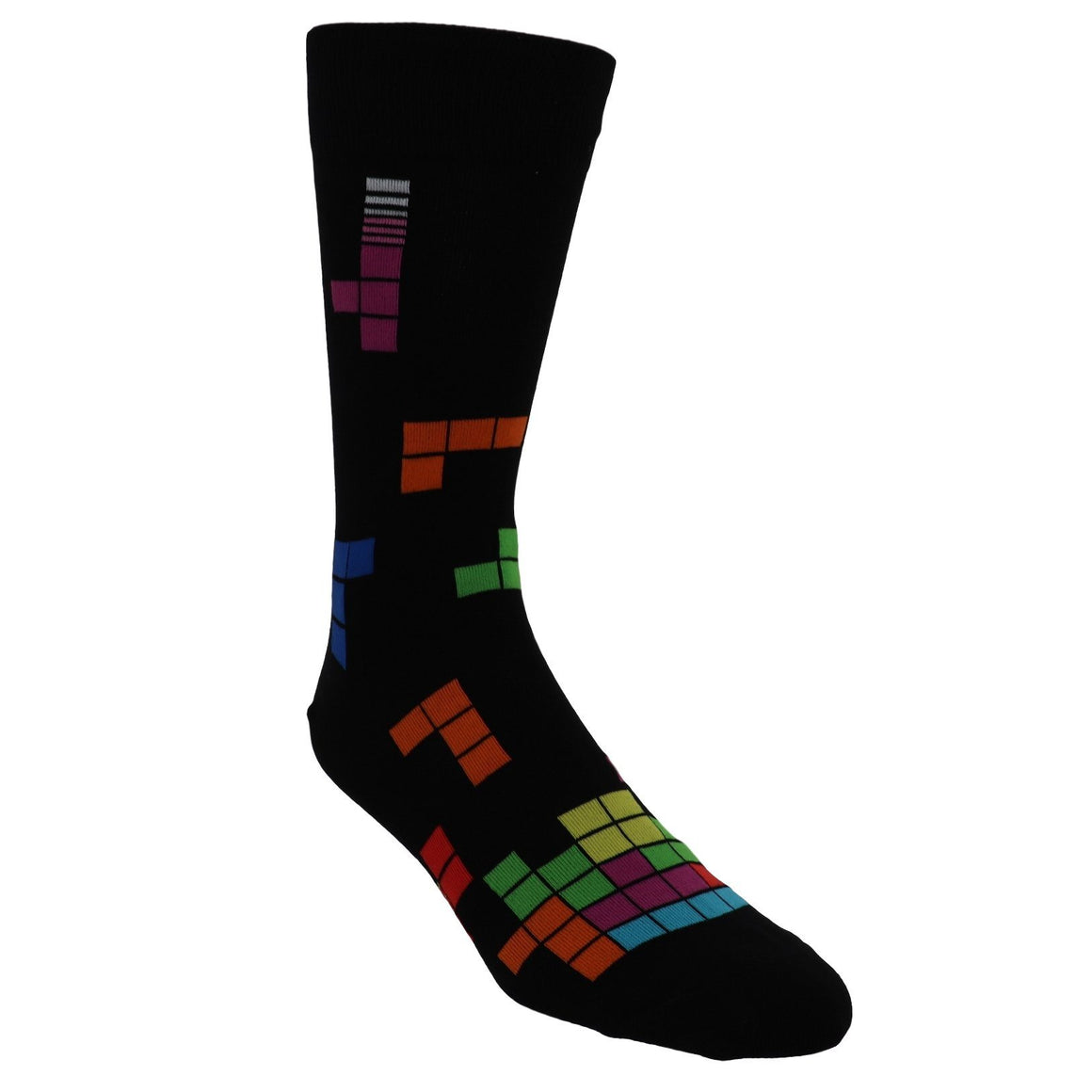 Tetris High Score Men's Socks by Sock it to Me - The Sock Spot