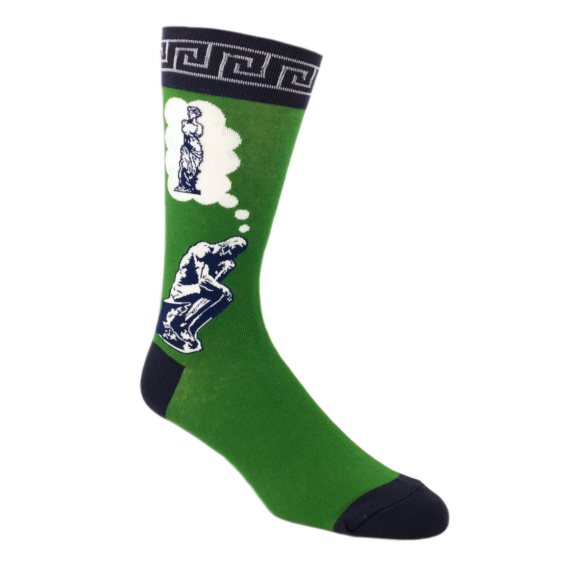 The Thinker's Thought Socks - The Sock Spot