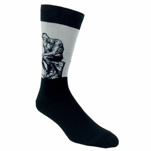 The Thinker Statue Socks - The Sock Spot