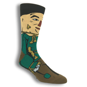 The Wizard of Oz Scarecrow 360 Socks - The Sock Spot