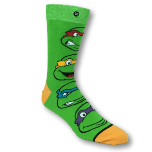 Socks - TMNT Ninja Turtles Stacked 360 Socks