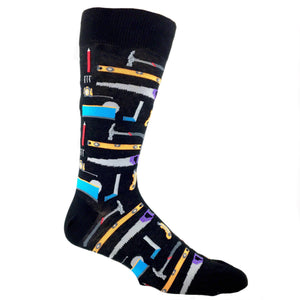 Tools of the Trade Socks - Black - The Sock Spot